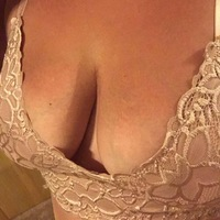 Sexy bralette holding my pierced titties