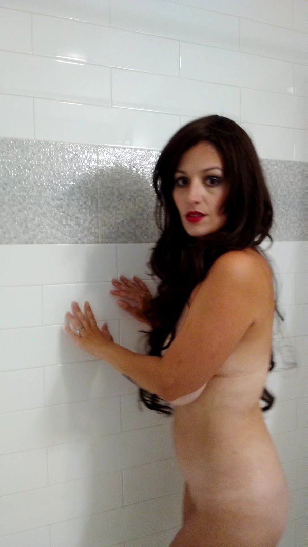 Shower, shave, and cum