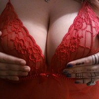 Sexy Red Babydoll!