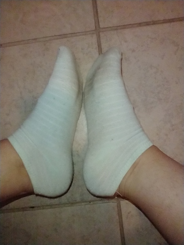 Mint Colored Used Socks
