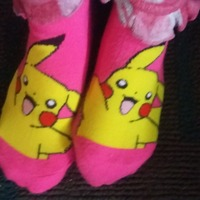 Pokemon socks( GOTTA catch EM all)