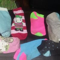 Mix match sock galore