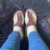 Break me in like these sandals