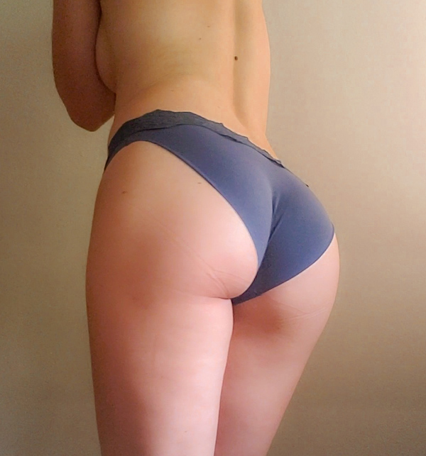 Silky Blue Panties