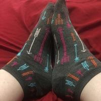 Arrow print ankle socks