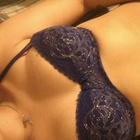 Fantasy blue bra