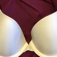white Victoria's Secret bra