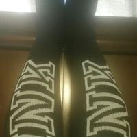 VS PINK knee high tube socks