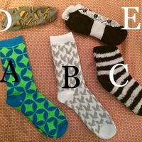 Socks: You choose!