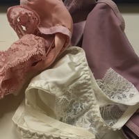 100% SILK GSTRINGS - LAVENDER, PINK, WHITE AVAILABLE!