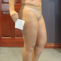 Pantyhose worn 48hours no panty