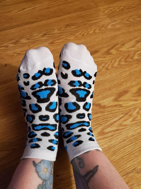 Blue is Better in Leopard Print!