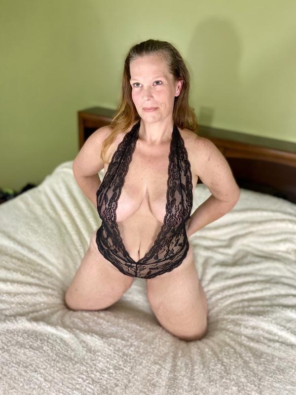 Sexy Black Lace Teddy