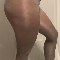 Grey pantyhose