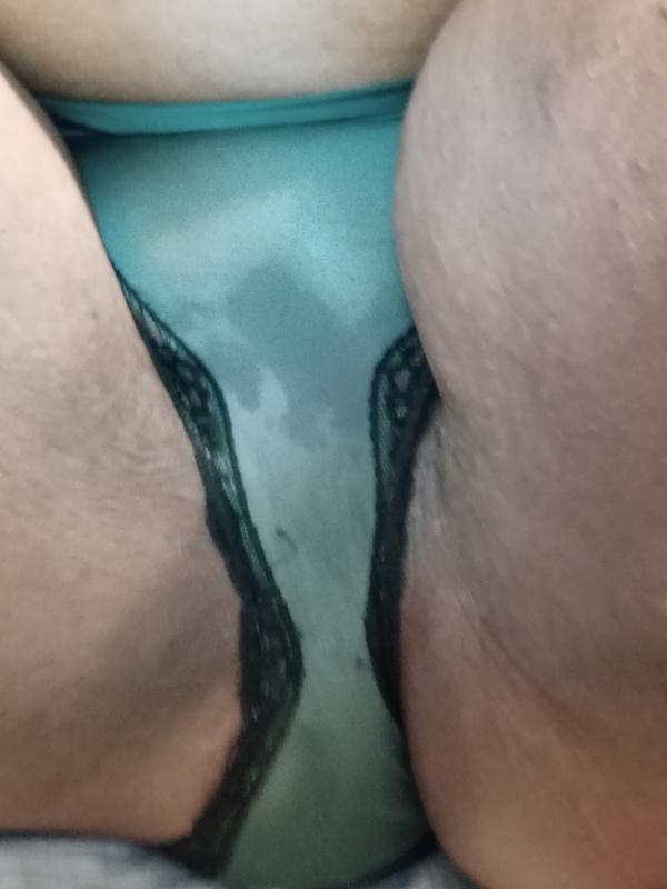 Plus size dark green Panties