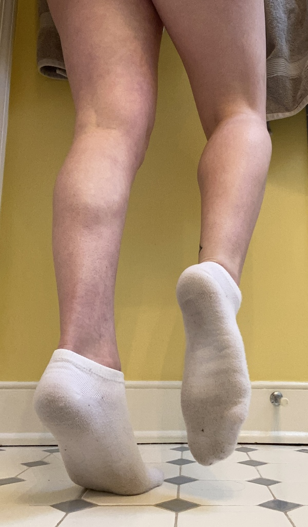 Dirty White Socks [7 Day Wear]