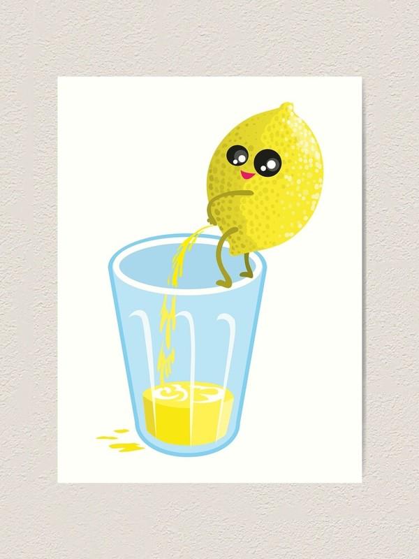 🍋 Large Bottle of Homemade Lemonade 🍋