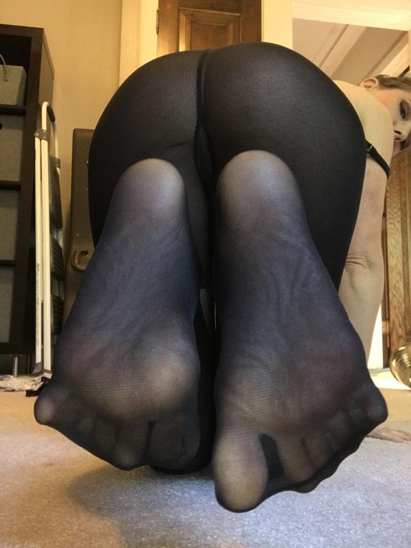 Black Sheer Nylons
