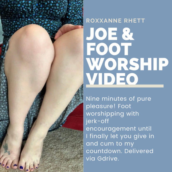 9min JOE Foot Worship Cum Countdown Video