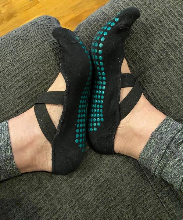 Month-Worn Yoga Socks
