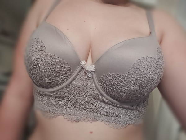 victoria secret lacey bra