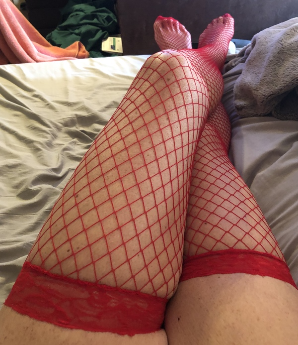 Dirty hot wife fishnets
