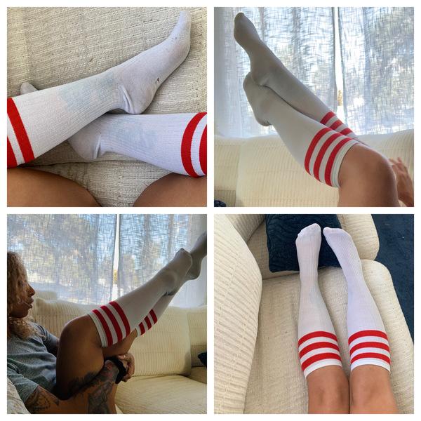 Sexy skater socks
