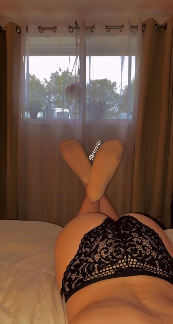 Lace ballerina sock