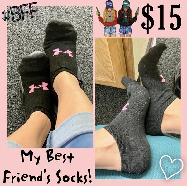 My Best Friend's Socks! 💜 Under Armor