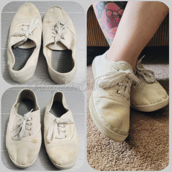 Dirty Cloth Ked Shoes (Size 8)