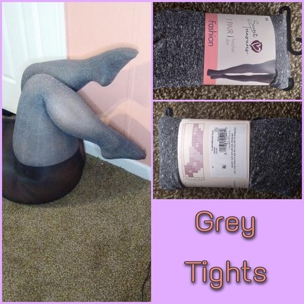 Grey tights