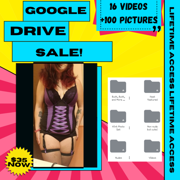 Google Drive Lifetime Access!! 100+ Photos And 16 Videos And Adding Every Day!!