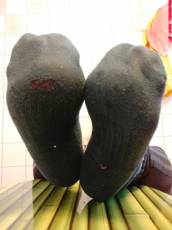 Nike dirty sport socks