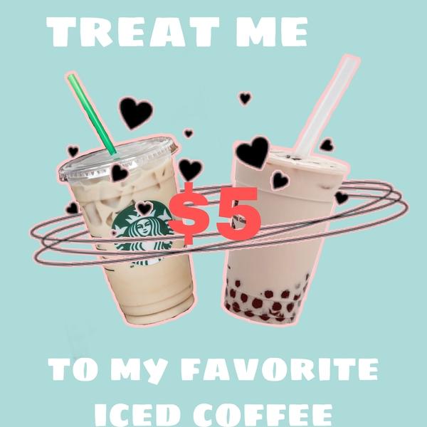 Buy me an iced coffee