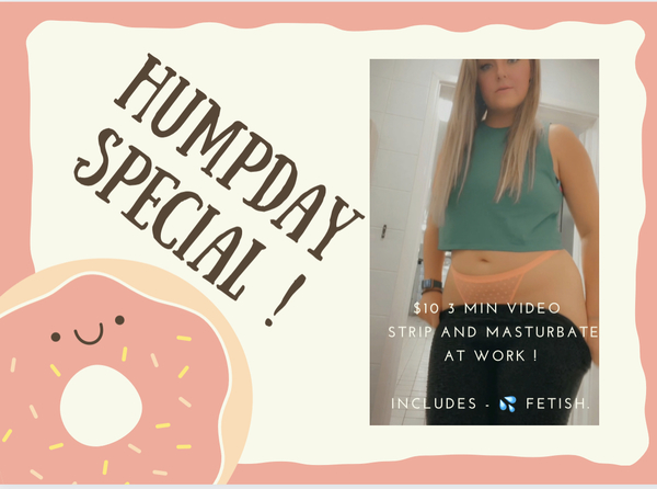 Humpday video deal !