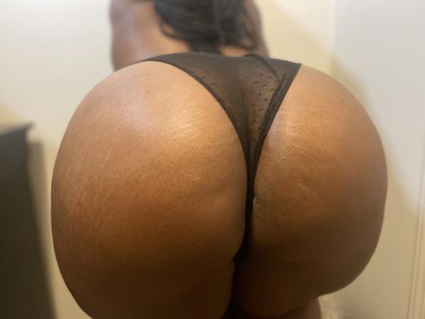 Sheer Blk panty