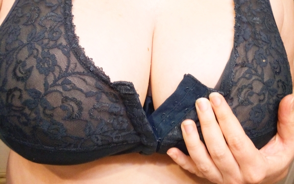Lacy Front Fastening Bra