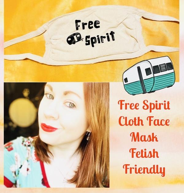 """Free Spirit"" Cloth Face Mask"