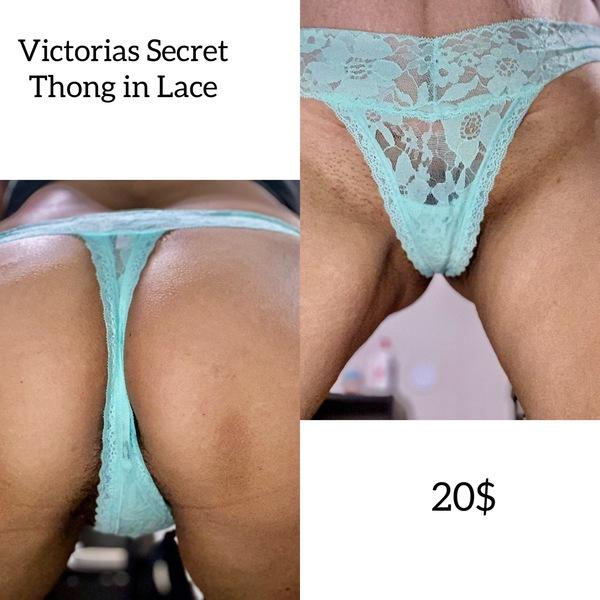 Lace up thong by Victorias Secret 💦