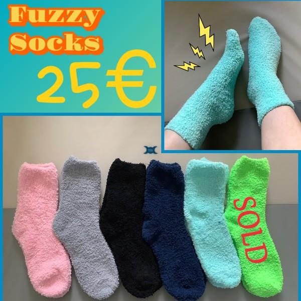 The Fuzziest Fuzzy Socks 🧦