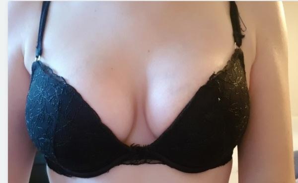 Very worn bra