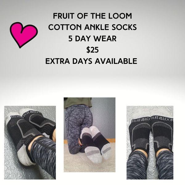Cotton ankle socks