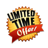 Small limited offer free png image