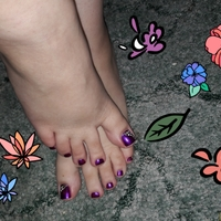 Small purple feet resized