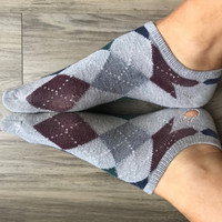 Small plaid socks
