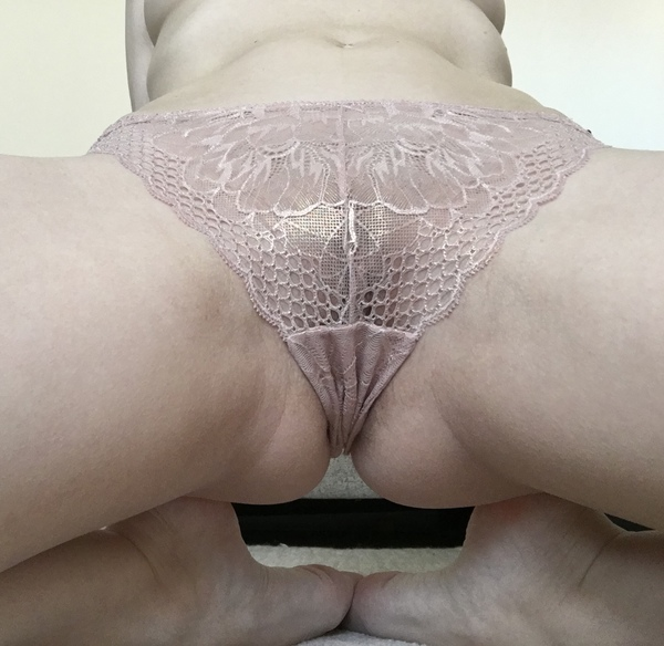 Gold Lacy Panties
