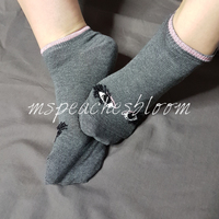 Small limited cotton socks grey trainerliners eyes 01