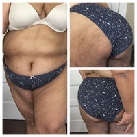 Small cotton bikini constellations