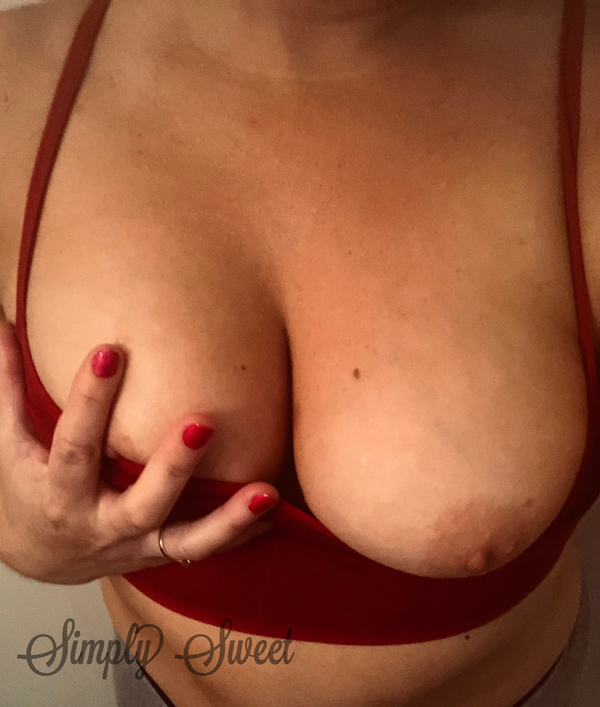 Red Bralette