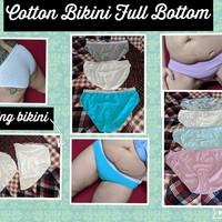Small cotton bikini